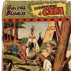 Tebeos: COMIC LA GACELA BLANCA. TERRITORIO DE CAZA. 1949 HISPANO AMERICANA. Nº 32. Lote 87337772