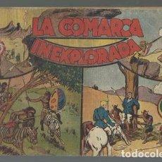 Tebeos: JORGE Y FERNANDO 21: LA COMARCA INEXPLORADA, 1940, ORIGINAL, USADO. Lote 87397276