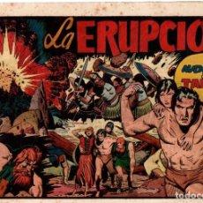 Tebeos: LA ERUPCIÓN. AVENTURA DE TARZAN. ORIGINAL. CIRCA 1940. Lote 87421764