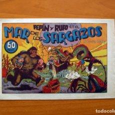 Tebeos: PEPIN Y RUFO, Nº 2 EN EL MAR DE LOS SARGAZOS - COLECCIÓN AUDAZ - HISPANO AMERICANA 1941, VER FOTOS. Lote 87516676