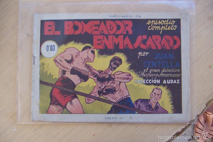HISPANO AMERICANA, JUAN CENTELLA, Nº EN INTERIOR (Tebeos y Comics - Hispano Americana - Juan Centella)