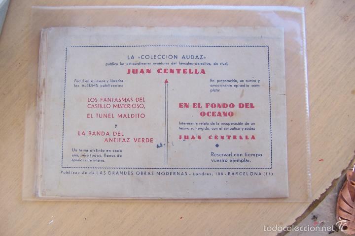 Tebeos: hispano americana, juan centella, nº en interior - Foto 2 - 87629320