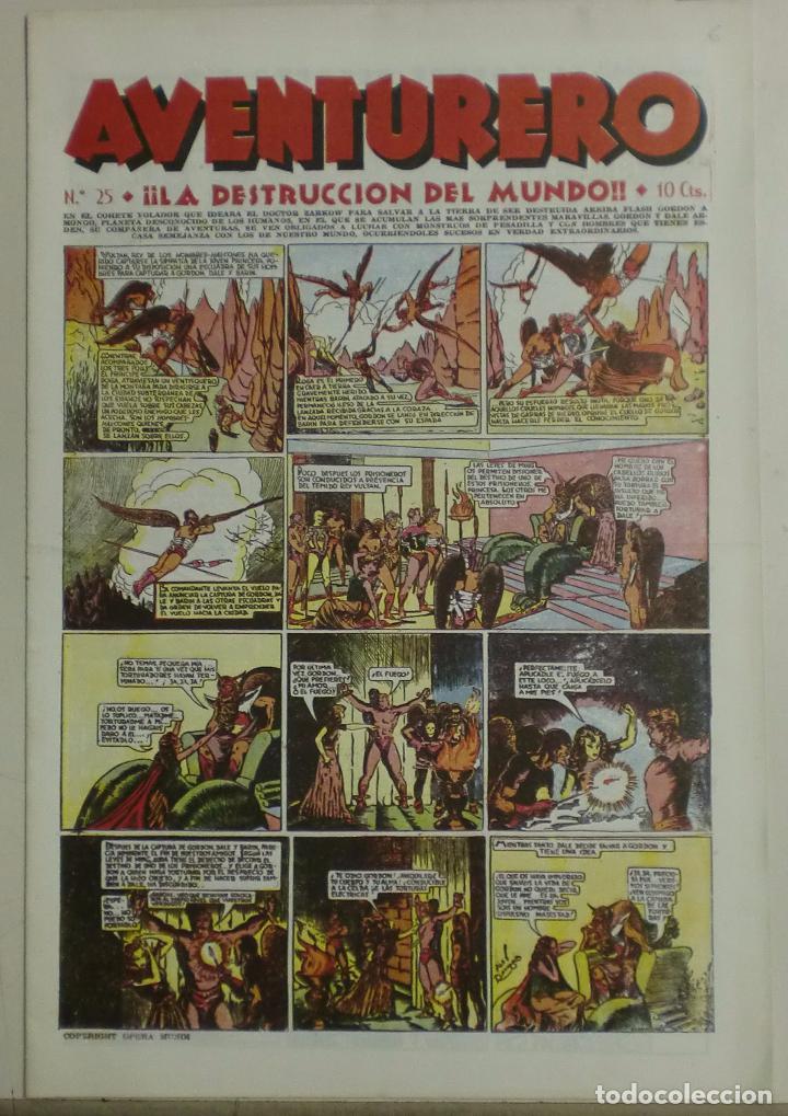 AVENTURERO - Nº25 - ¡¡LA DESTRUCCIÓN DEL MUNDO!! (Tebeos y Comics - Hispano Americana - Aventurero)