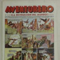 Tebeos: AVENTURERO - Nº25 - ¡¡LA DESTRUCCIÓN DEL MUNDO!! . Lote 88102820