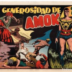 Tebeos: LA GENEROSIDAD DE AMOK. ORIGINAL. AÑOS 40. Lote 88517680