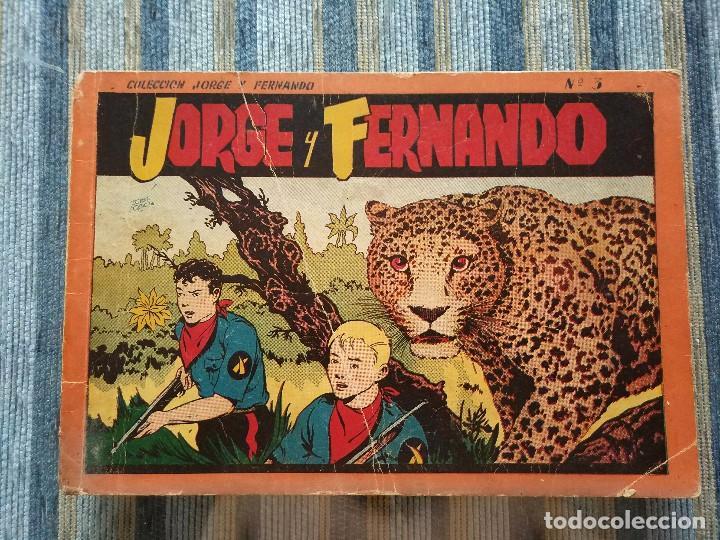 JORGE Y FERNANDO, ALBUM ROJO N° 3 (HISPANO AMERICANA 1944) (Tebeos y Comics - Hispano Americana - Jorge y Fernando)