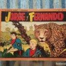Tebeos: JORGE Y FERNANDO, ALBUM ROJO N° 3 (HISPANO AMERICANA 1944). Lote 88896408