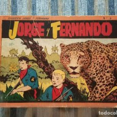 Tebeos - JORGE Y FERNANDO, ALBUM ROJO N° 3 (HISPANO AMERICANA 1944) - 88896408