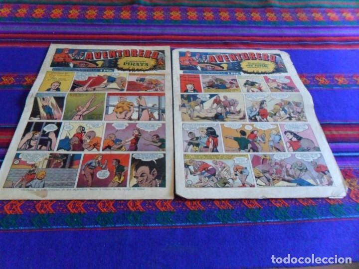 EDICIONES AVENTURERO NºS 21 Y 22. HISPANO AMERICANA AÑOS 40. FLASH GORDON. (Tebeos y Comics - Hispano Americana - Aventurero)