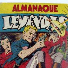 Tebeos: COM-179. ALMANAQUE LEYENDAS AÑO 1946. ORIGINAL. 70 PAGINAS. HISPANO AMERICANA DE EDICIONES.. Lote 89506252
