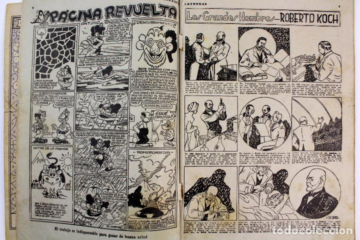 Tebeos: COM-179. ALMANAQUE LEYENDAS AÑO 1946. ORIGINAL. 70 PAGINAS. HISPANO AMERICANA DE EDICIONES. - Foto 4 - 89506252