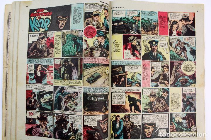 Tebeos: COM-179. ALMANAQUE LEYENDAS AÑO 1946. ORIGINAL. 70 PAGINAS. HISPANO AMERICANA DE EDICIONES. - Foto 6 - 89506252