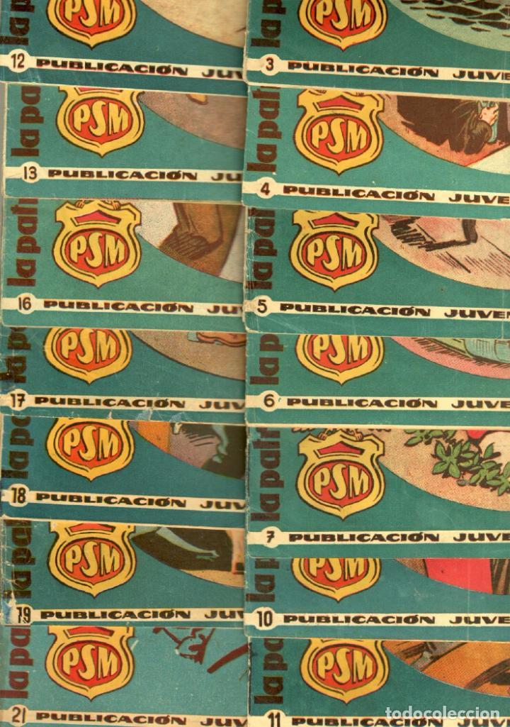 LA PATRULLA SIN MIEDO ORIGINAL LOTE NºS 3,4,5,6,7,10,11,12,13,16,17,18,19,21 VER PORTADAS 1961 (Tebeos y Comics - Hispano Americana - Otros)
