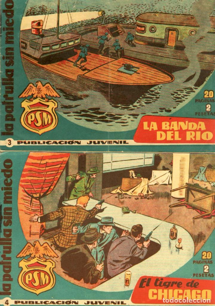 Tebeos: LA PATRULLA SIN MIEDO ORIGINAL LOTE NºS 3,4,5,6,7,10,11,12,13,16,17,18,19,21 VER PORTADAS 1961 - Foto 2 - 89691180
