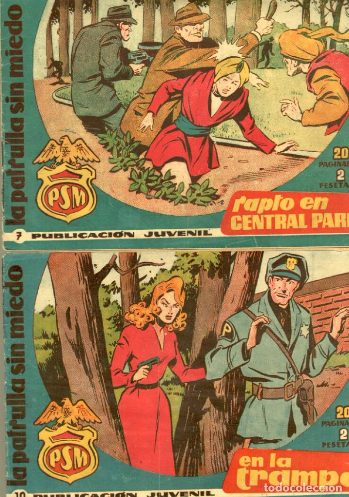 Tebeos: LA PATRULLA SIN MIEDO ORIGINAL LOTE NºS 3,4,5,6,7,10,11,12,13,16,17,18,19,21 VER PORTADAS 1961 - Foto 4 - 89691180