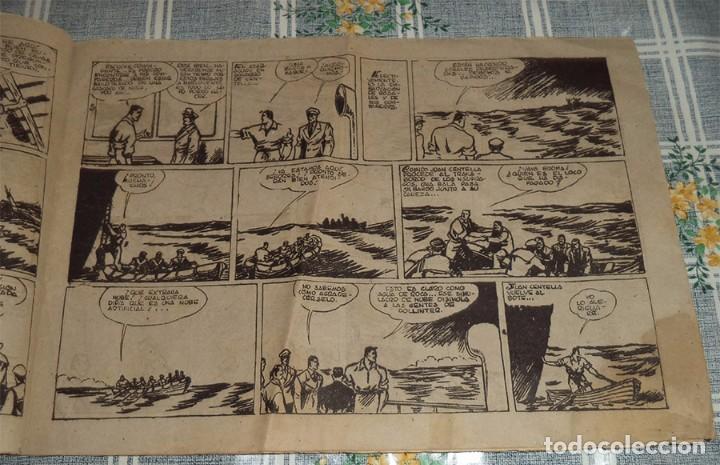 Tebeos: JUAN CENTELLA N.º 68 EN LOS MARES DEL SUR HISPANA AMERICANA 1 Ptas. ORIGINAL DE ÉPOCA - Foto 2 - 89693508