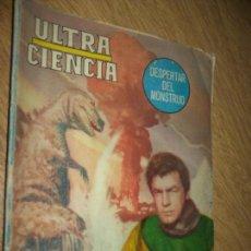 Tebeos: ULTRACIENCIA N.1 -DESPERTAR DEL MUNDO- FOTONOVELA EL DINOSAURIO REX GIGAN FILM MEXICO 1964 EDITORMEX. Lote 89856000