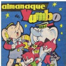 Tebeos: ALMANAQUE DE YUMBO. 1961. Lote 90058292