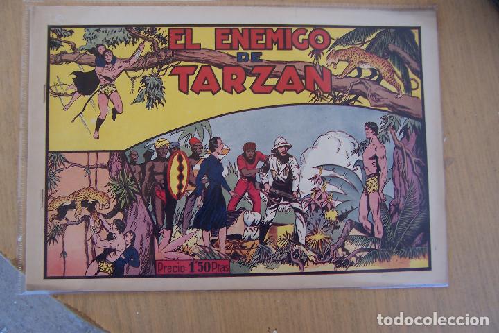 Tebeos: hispano americana - colección de tarzán, años 40, ver interior, - Foto 75 - 26004502