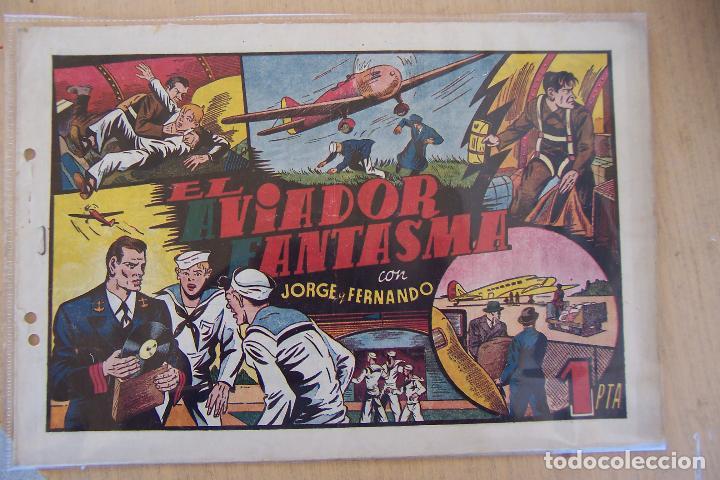 JORGE Y FERNANDO Nº EL AVIADOR FANTASMA (Tebeos y Comics - Hispano Americana - Jorge y Fernando)