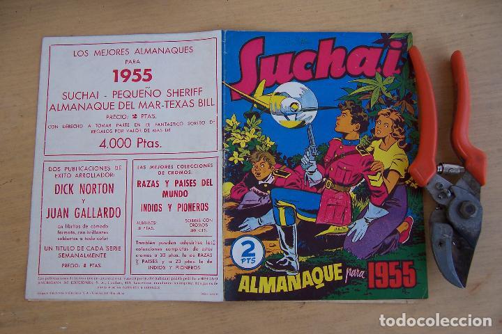 Tebeos: hispano americana, lote de 225 nº de suchai y almanaque 1955 y 1956 - Foto 17 - 84704212