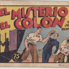 Tebeos: JUAN CENTELLA Nº 22. EL MISTERIO DEL COLÓN. HISPANO AMERICANA 1940.. Lote 91923900