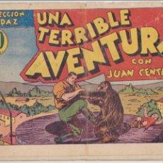 Tebeos: JUAN CENTELLA. UNA TERRIBLE AVENTURA. HISPANO AMERICANA.1940.. Lote 91924110