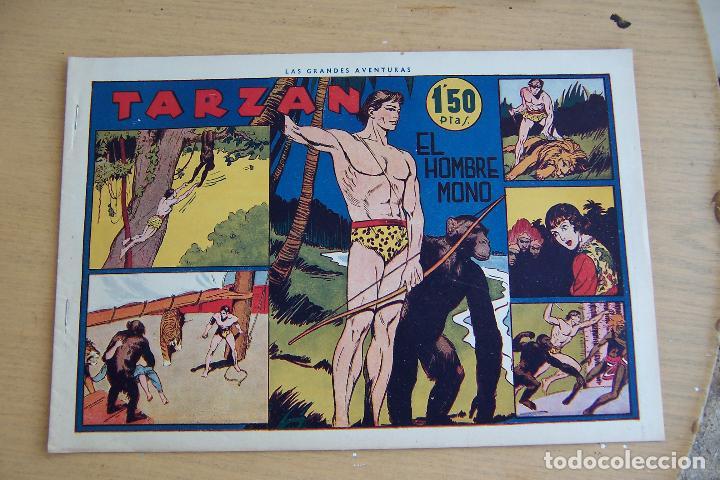 Tebeos: hispano americana - colección de tarzán, años 40, ver interior, - Foto 78 - 26004502