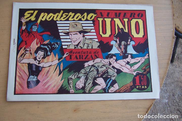 Tebeos: hispano americana - colección de tarzán, años 40, ver interior, - Foto 80 - 26004502