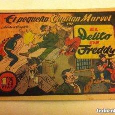 Tebeos: PEQUEÑO CAPITÁN MARVEL - Nº. 4 (ÚLTIMO) - EL DELITO DE FREDDY (EXCELENTE CONSERVACIÓN). Lote 92324780