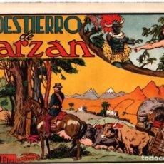Tebeos: EL DESTIERRO DE TARZAN. 1,50 PTAS. ORIGINAL. AÑOS 40. Lote 92704695