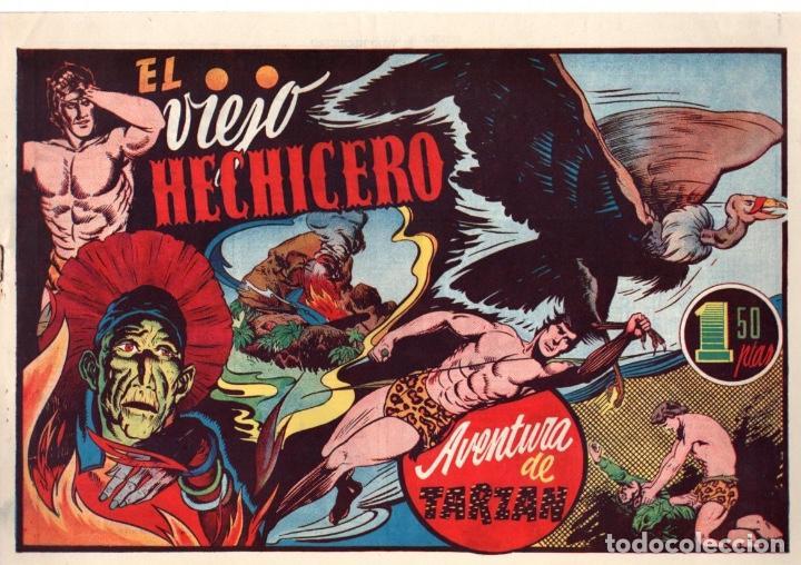 EL VIEJO HECHICERO. AVENTURA DE TARZAN. 1,50 PTAS. ORIGINAL. AÑOS 40 (Tebeos y Comics - Hispano Americana - Tarzán)