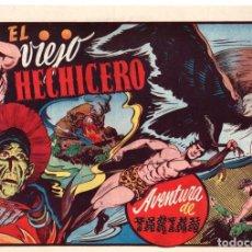 Tebeos: EL VIEJO HECHICERO. AVENTURA DE TARZAN. 1,50 PTAS. ORIGINAL. AÑOS 40. Lote 92709865