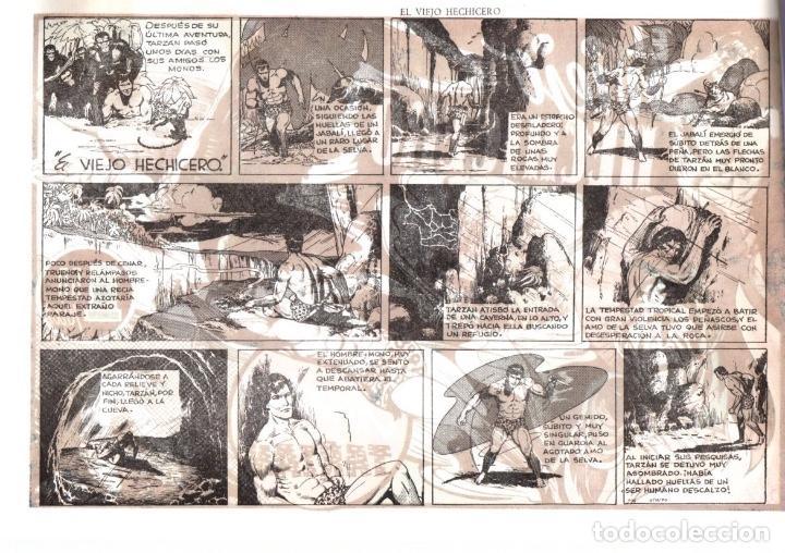Tebeos: EL VIEJO HECHICERO. AVENTURA DE TARZAN. 1,50 PTAS. ORIGINAL. AÑOS 40 - Foto 2 - 92709865
