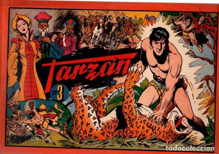 ALBUM TARZAN Nº 3. 7 PTAS. ORIGINAL (Tebeos y Comics - Hispano Americana - Tarzán)
