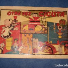 Tebeos: EL PROFESOR MAGNUS CONTRA EL DR. CICUTA Nº 1: OTRA VEZ CICUTA, 1945, USADO. Lote 92743870