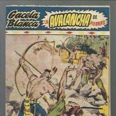 BDs: GACELA BLANCA 13: LA AVALANCHA DE PIEDRAS, 1949, HISPANO AMERICANA, MUY BUEN ESTADO. Lote 92864450