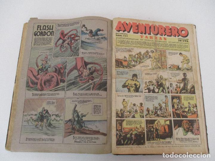 LOTE 65 REVISTAS - AVENTURERO - HISPANO AMERICANA - AÑO II Nº 43, 1936 HASTA AÑO III Nº 117, 1937 (Tebeos y Comics - Hispano Americana - Aventurero)