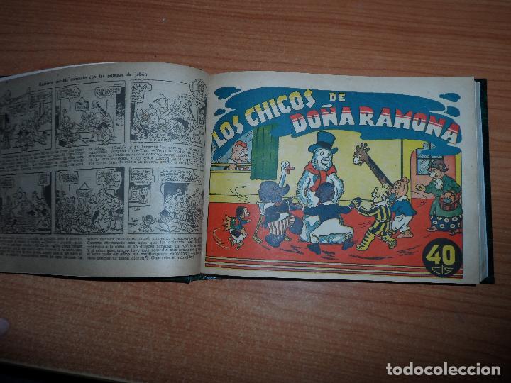Tebeos: TOMO ORIGINAL DE COLECCIONES COMPLETA DE INFANTIL GRANDES AVENTURAS POPEYE YUMBO ANTOÑETE CRI CRI - Foto 2 - 93701980
