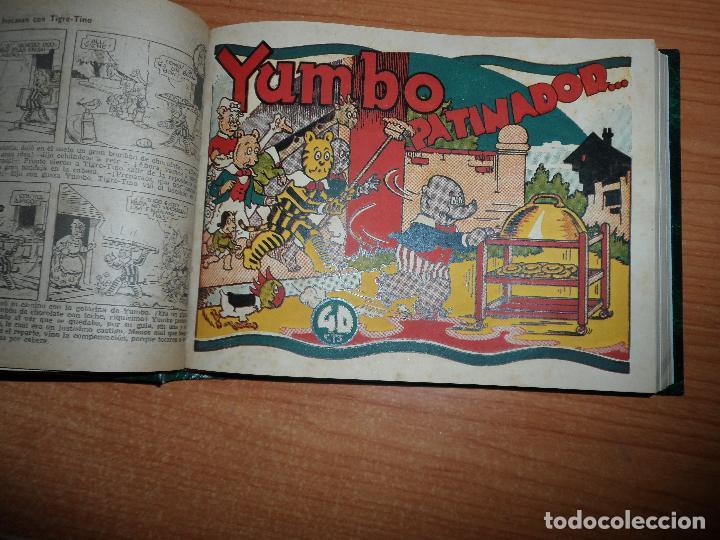 Tebeos: TOMO ORIGINAL DE COLECCIONES COMPLETA DE INFANTIL GRANDES AVENTURAS POPEYE YUMBO ANTOÑETE CRI CRI - Foto 4 - 93701980
