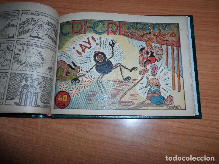 Tebeos: TOMO ORIGINAL DE COLECCIONES COMPLETA DE INFANTIL GRANDES AVENTURAS POPEYE YUMBO ANTOÑETE CRI CRI - Foto 33 - 93701980
