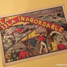 Tebeos: LA ISLA INABORDABLE (A.P.J) (H. AMERICANA). Lote 93801215