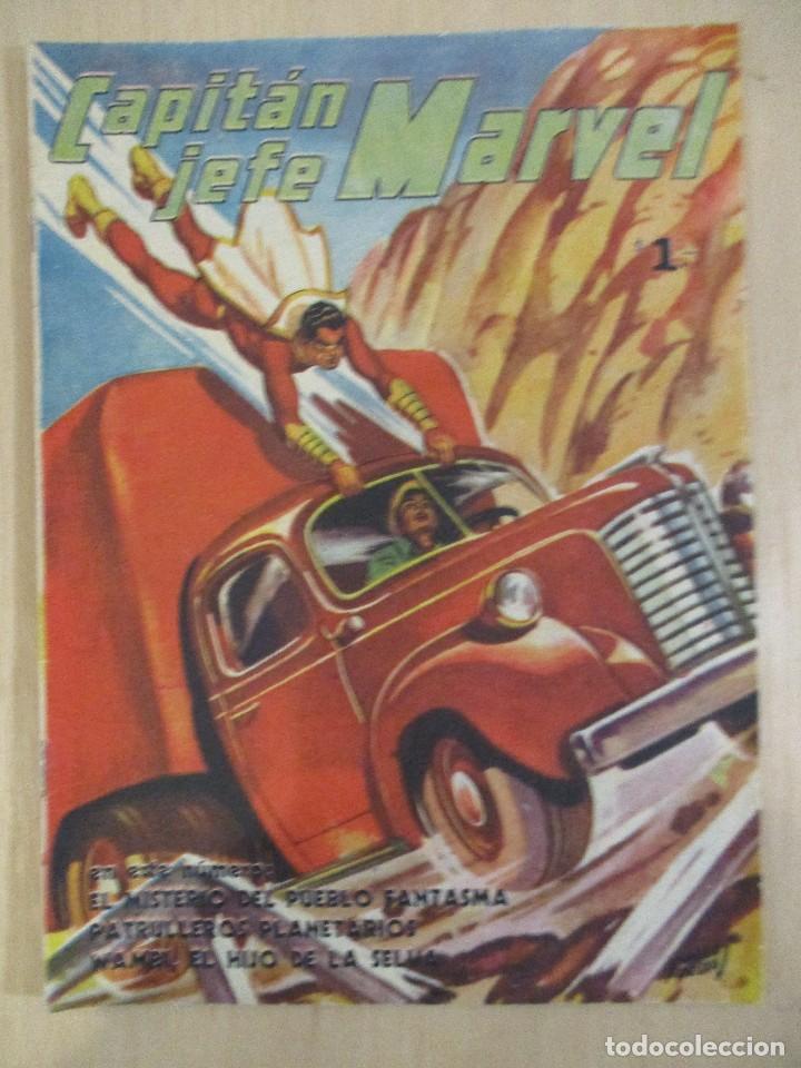 CAPITAN JEFE MARVEL-Nº3-1953-PUBLICACIONES UNIVERSALES-ARGENTINA-PERFECTO (Tebeos y Comics - Hispano Americana - Capitán Marvel)