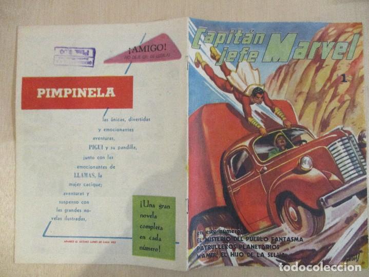Tebeos: CAPITAN JEFE MARVEL-Nº3-1953-PUBLICACIONES UNIVERSALES-ARGENTINA-PERFECTO - Foto 3 - 94172660