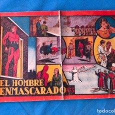 Tebeos: EL HOMBRE ENMASCARADO. ALBUM ROJO Nº 3 ORIGINAL. ED. HISPANO AMERICANA. Lote 94248670