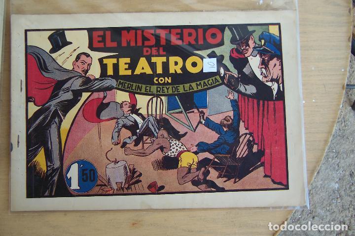 Tebeos: hispano americana, lote de merlín el mago, ver - Foto 25 - 81703172