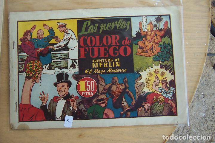 Tebeos: hispano americana, lote de merlín el mago, ver - Foto 29 - 81703172
