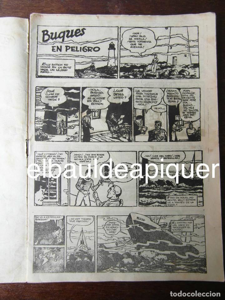 Tebeos: El Capitan Marvel. Buques en peligro nº 31. Hispano Americana. Original - Foto 3 - 94407466