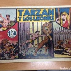 Tebeos: COMIC ORIGINAL TARZAN EDITADO POR HISPANO AMERICANA Nº4 TARZAN Y LOS LEONES. Lote 94550279