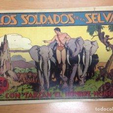 Tebeos: COMIC ORIGINAL TARZAN EDITADO POR HISPANO AMERICANA Nº 9 LOS SOLDADOS DE LA SELVA . Lote 94550843